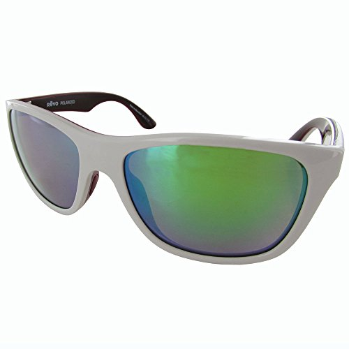 Revo Sunglasses Revo Otis Polarized Square Sunglasses, Grey Green Water, 57 - Otis Sunglasses