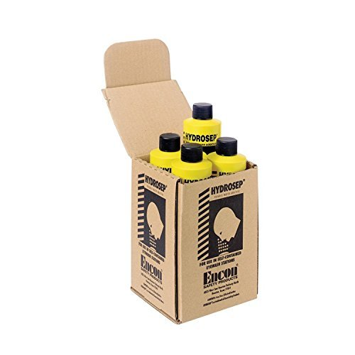ERB Safety 17051 Hydrosep Water Treatment Additive Eyewash Stations, One Size, Yellow by (Water Treatment Additive)