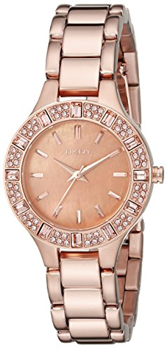 - DKNY Women's NY8486 CHAMBERS Rose Gold Watch