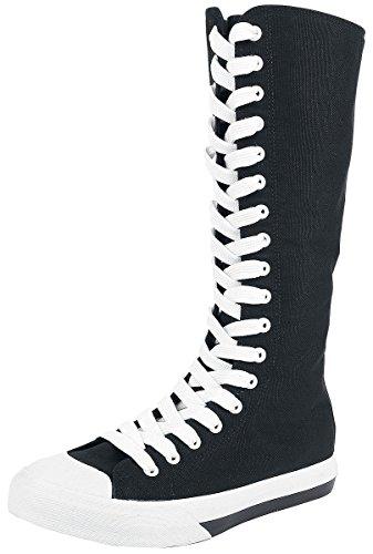 R.E.D. by EMP Extra High Sneaker Schuhe schwarz EU40