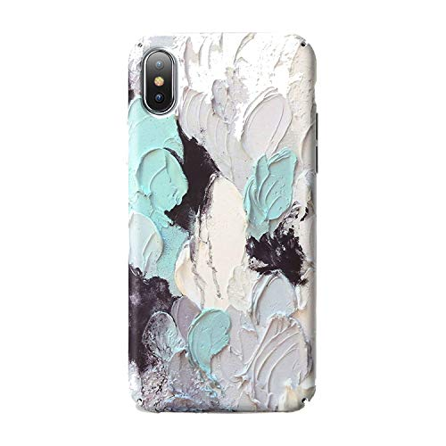 3D Luminous Phone Case for iPhone 7 8 Plus XS Max Hard PC Case Cover for iPhone XR X 6 6S Plus Mobile Phone Cases Fundas,Pattern 2,for iPhone 8