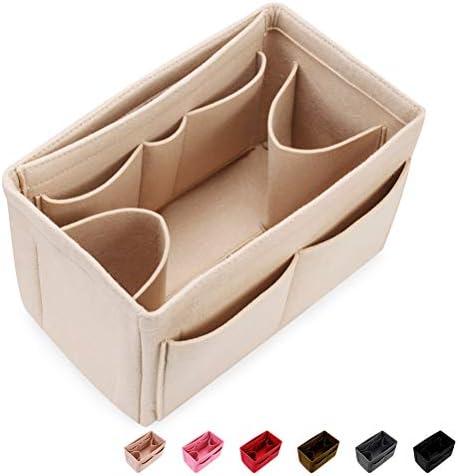Felt Insert Bag Organizer Bag In Bag For Handbag Purse Tote Diaper Bag 6 Colors Fits Speedy Neverfull 4 Sizes