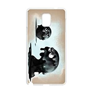 Little Deviants Samsung Galaxy Note 4 Cell Phone Case White xlb2-210012