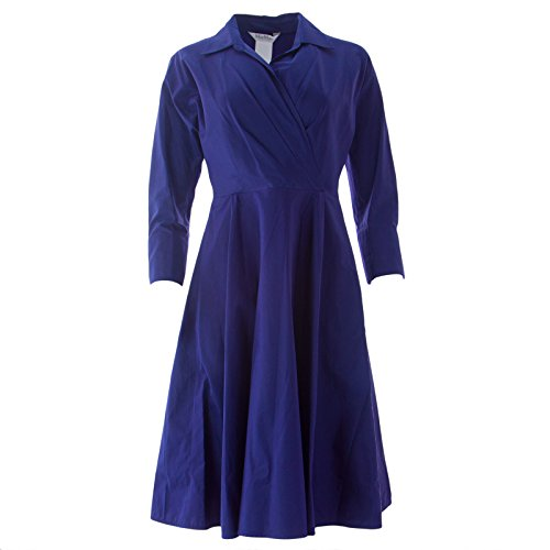 max-mara-womens-lollo-fit-flare-shirt-dress-2-navy