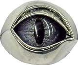 Plain Metal Blue Cat Eye Ring -Made in USA (8)