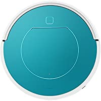 Hard Floor and Carpet Vacuum Cleaner Robot Intelligent Sensor Collision Eventer Vacuum Robot Cleaning Auto Adjust Suction Hair Bane Pet Cleaner (blue)