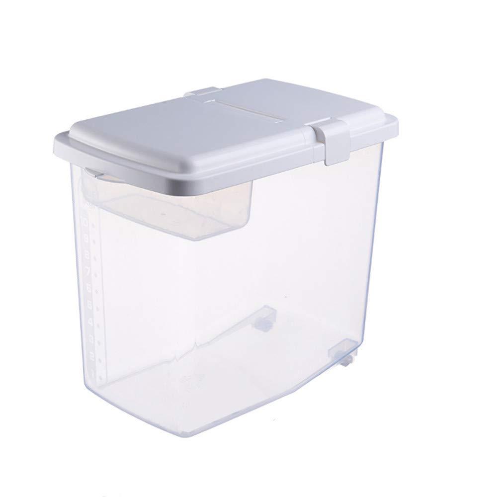 Contenedor de arroz de 10 kg, contenedor de almacenamiento sellado ...