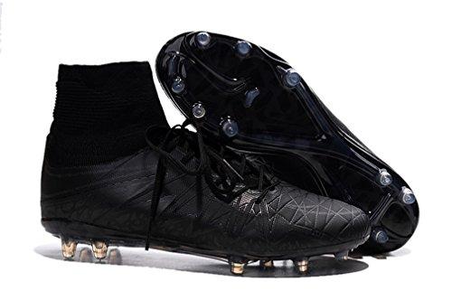 Herren HYPERVENOM PHANTOM II FGI schwarz Hi Top Fußball Schuhe Fußball Stiefel