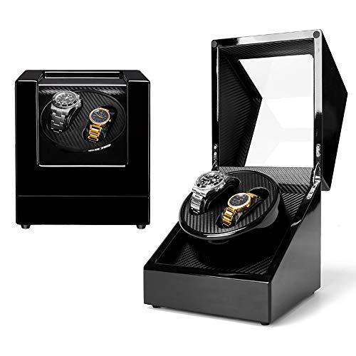 Jolitac Automatic Rolex Watch Winders,Double Watch Automatic Winder Boxes for Rolex Display,fit Women and Men's Watch