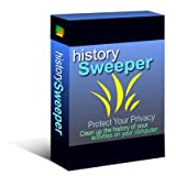 History Sweeper (Download+CD): Windows Cleaner software; Clean up your computer with one click; Erase your digital tracks and digital fingerprints; Protect your privacy and enhance your Internet security. Save disk space and improve your system performance.
