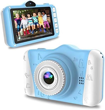 子供のデジタルカメラ、ビッグボーイ12MP子供カメラ、1080P充電式電子カメラ、子供のための最高の贈り物
