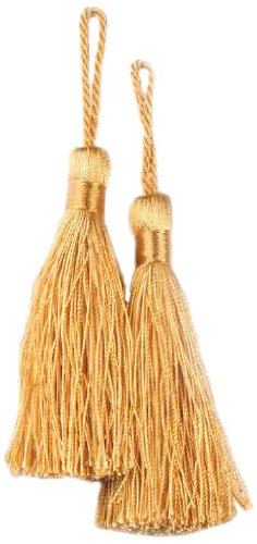 Expo Fiber Tassel, Gold, 2-Pack
