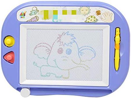子どもの描画ボード 子供の子供のための幼児教育マジック消去可能落書き製図板のおもちゃ落書きボード 磁気子供用ライティングボード (色 : Purple, Size : 29x21.5cm)