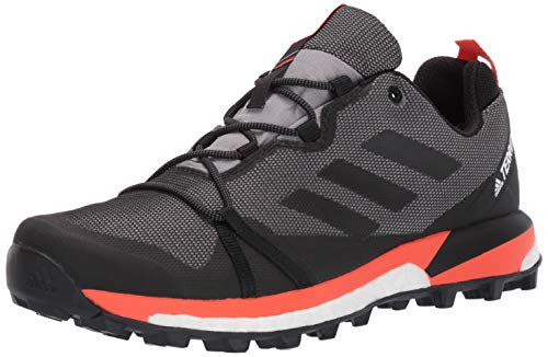- adidas outdoor Men's Terrex Skychaser LT GTX Athletic Shoe, Grey Three/Black/Active Orange, 7.5 D US