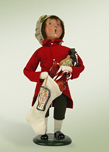 Town Crier Costumes (Byers Choice Town Crier Boy with Christmas Treats 2015)