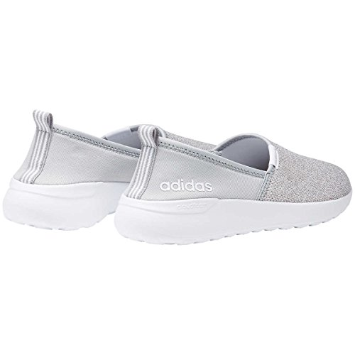 Adidas Neo Donna Lite Racer Slip On W Casual Sneaker Grigio / Bianco