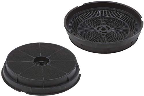 Drehflex – 2 filtros de carbón activo para campana, 190 mm, para campanas Refsta con filtros de carbón K25: Amazon.es: Hogar