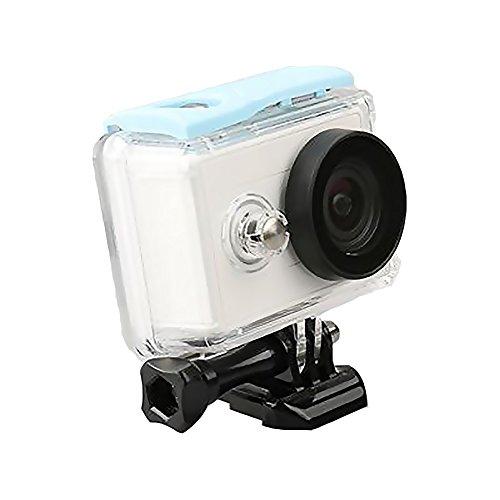 Caracol tienda Underwater carcasa protectora funda impermeable para Xiaomi yi cámara de acción & # xFF08; Tipo de Ronda & #...