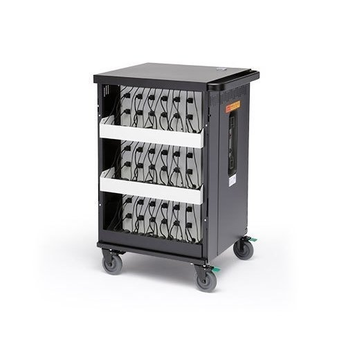 Bretford Cortex Cart for 45 tablets / notebooks, Black (TCOREX45)