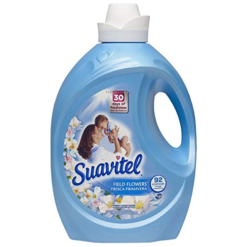 Suavitel Field Flowers Liquid Fabric Conditioner, 135 fl oz