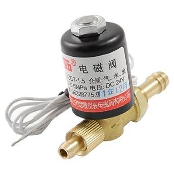 eDealMax latón Conector de manguera DE 2 maneras soldadura de la máquina rotativa de la válvula