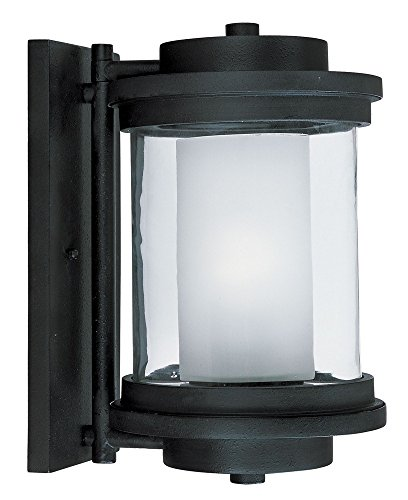 Maxim 5864CLFTAR, Lighthouse Outdoor Wall Sconce Lighting, 75 Total Watts, Anthracite