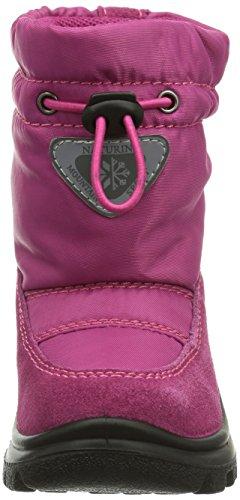 Rose Neige De Pink Naturino Fille Moyenne Hauteur Chaude Bottes Doublure 9108fuxia Varna W116TwSnz