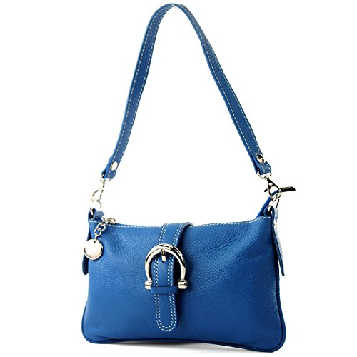 bag bag bag bag Blue Italian handbag real shoulder T05 messenger tote leather SwOaqpz