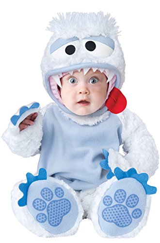 InCharacter Baby's Abominable Snowbaby Costume, White/Blue, X-Small -