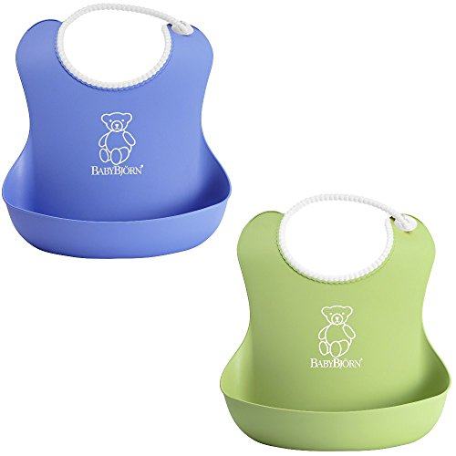 BabyBjorn Soft Bib Pack Green