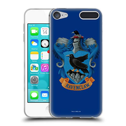 Official Harry Potter Ravenclaw Crest Chamber of Secrets I Soft Gel Case Compatible for Apple iPod Touch 6G 6th -