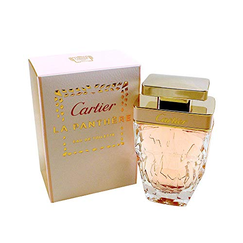 - Cartier La Panthere Eau De Toilette Spray for Women, 1.6 Ounce