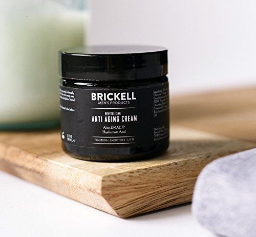 41Ch%2BCmL4CL - Brickell Men's Revitalizing Anti-Aging Cream For Men, Natural and Organic Anti Wrinkle Night Face Cream To Reduce Fine Lines and Wrinkles, 2 Ounce, Unscented