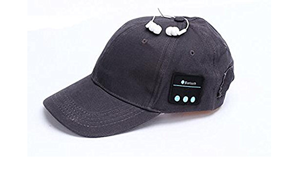 suoryisrty Wireless Bluetooth Earphone Cap Outdoor Baseball Cap Music Headphone Sun Hats