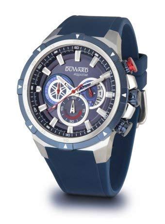 Duward Reloj Hombre Correa Azul con Esfera Azul,acuatico 10ATM.D85532.05: Amazon.es: Relojes