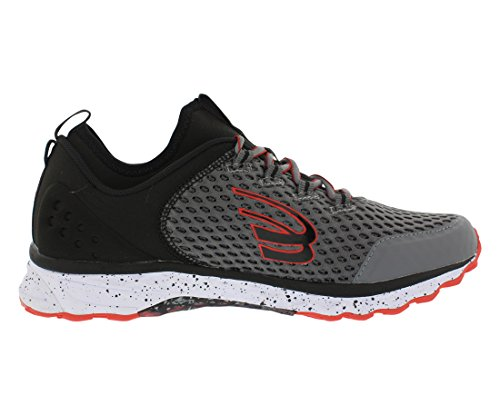 Black Phoenix Spira Charcoal Red Shoe Tsai Women's 8Bxf6qng