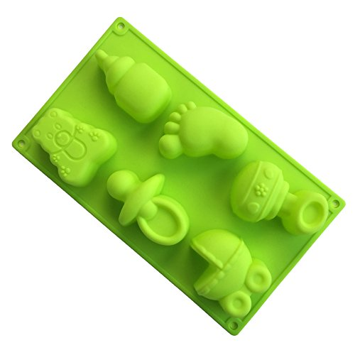 Price comparison product image Oven Baby Pacifier Soap Mold Cake / Ice Cake Mold Pattern Decorating Silicone Fondant Mould Home DIY Baking & Pastry Tools