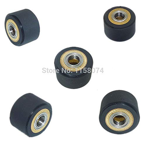 ILLIO 5pc 5x11x16mm Copper Core Pinch Roller Hole Dia 5mm Set For Roland Vinyl Plotter Cutter Cutting Engraving Machine Printer Parts NEW by ILLIO (Image #3)