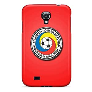 Lawshop LXcswh5216 Case For Galaxy S4 With Nice Romania Football Logo Appearance