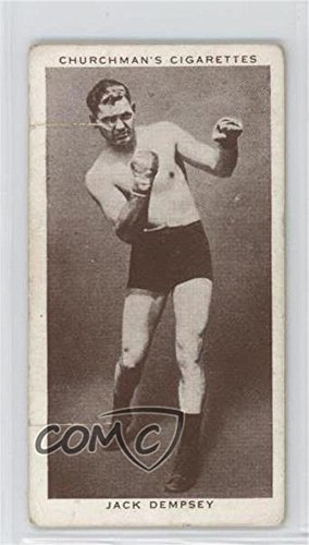 Jack Dempsey Ungraded COMC Poor to Fair (Trading Card) 1938 Churchman's Boxing Personalities - Tobacco [Base] #12 Jack Dempsey Memorabilia