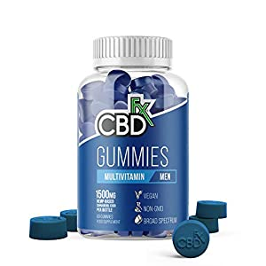 CBDfx Men's Multivitamin CBD Gummies (60 Gum...