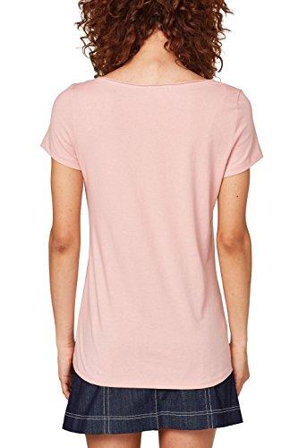 Pink Shirt ESPRIT Light 690 T Rosa Donna Xqfq5