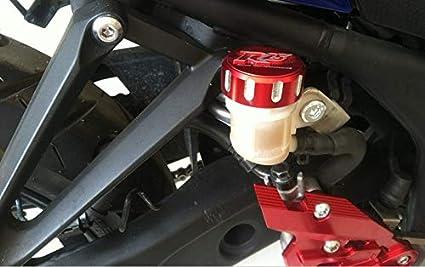 Areyourshop Tappo per serbatoio del freno anteriore e posteriore in alluminio CNC per YZF-R25 YZF-R3