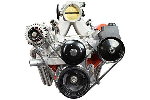 LS Truck Alternator & Power Steering Bracket Accessory Drive FEAD Kit LSX LQ4 LQ9 551499-3 ()