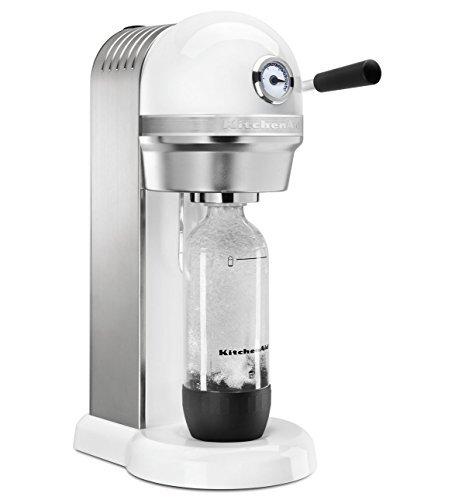 KitchenAid KSS1121WH Sparkling Beverage Maker, White