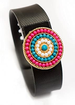 Fitbit bling jewelry Fitbit Charge/Charge HR jewelry accessory - HANNAH