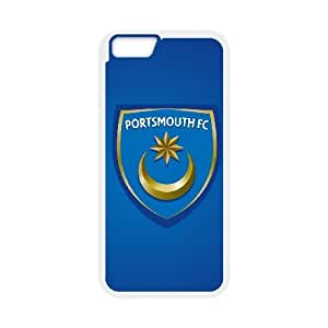iphone6 plus 5.5 inch case(TPU), portsmouth fc logo Cell phone case White for iphone6 plus 5.5 inch - HHKL3331456