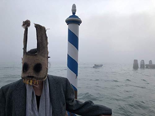 Creepy Bunny Mask - Scary Rabbit Mask - Burlap purge rabbit mask - Adult Halloween mask - Scarecrow horror animal mask -