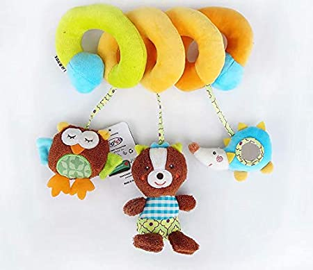 Spirale d/'activit/é avec jouets /à suspendre /à la poussette VWH au landau ou au lit de b/éb/é