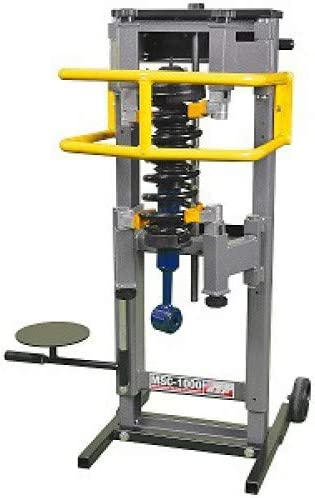QSP Manual Strut Compressor with Wheel Kit and Support Plate MSC-1000-3040